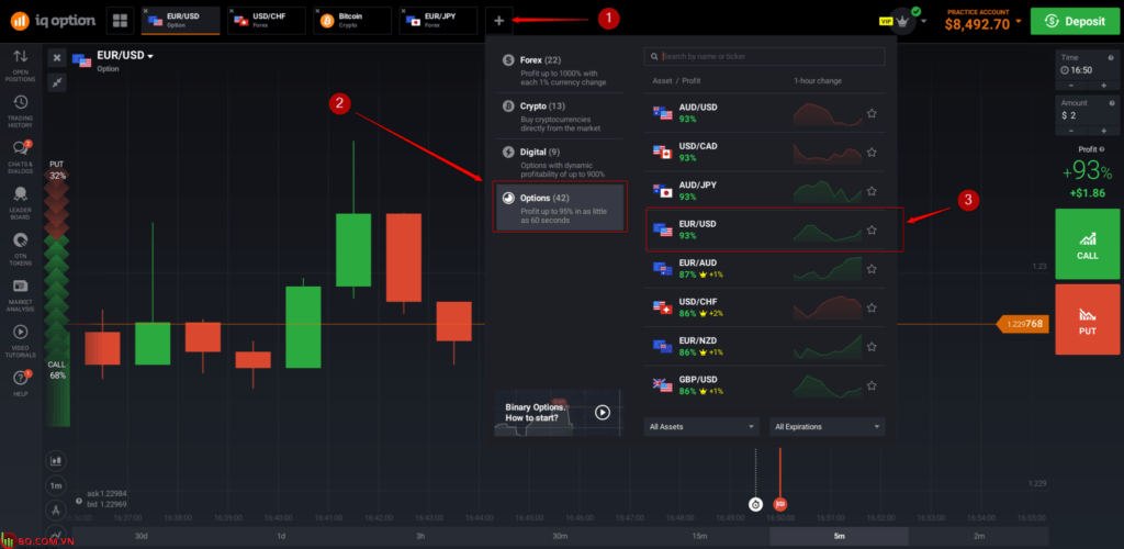 Giao dịch IQ Option Trading